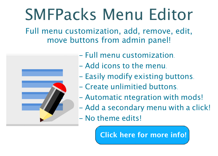 SMFPacks Menu Editor!