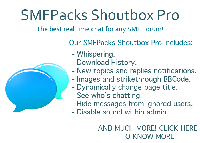 The best SMF shoutbox out there!