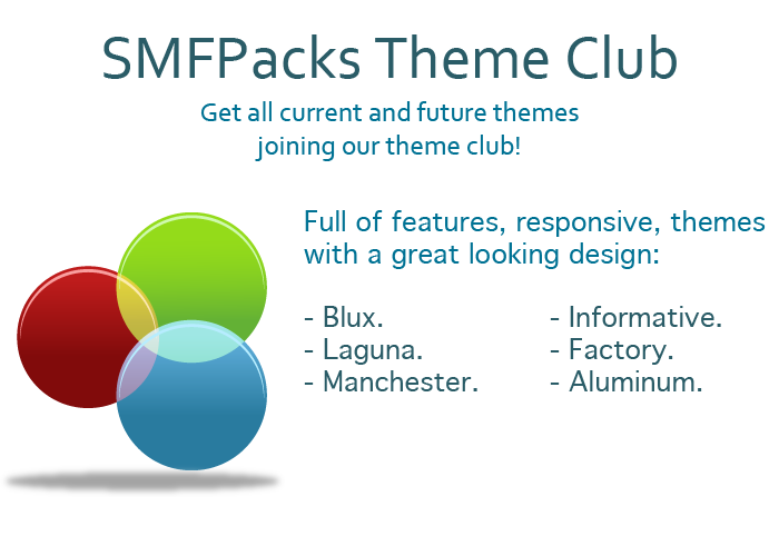 Join our theme club and get all our themes with one price